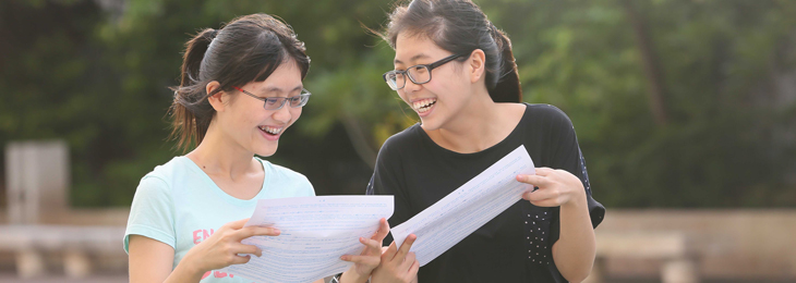 Release of results of 2014 HKDSE Examination