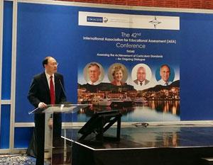 考评局秘书长唐创时博士出席国际教育评核协会会议